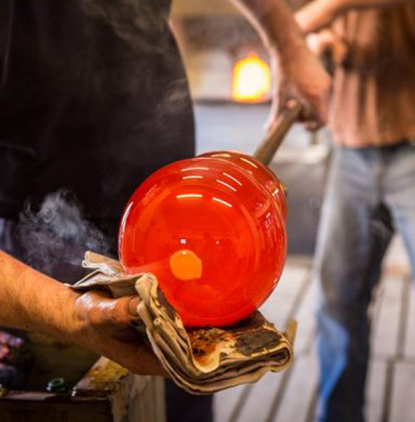Visit to the Glass Factory in Hergiswil