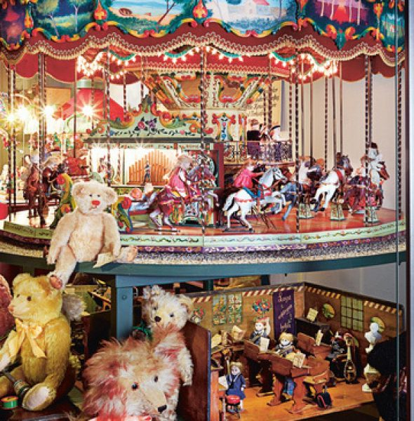 VISIT TO THE OLD DOLLS/TOYS HOUSE MUSEUM, BASEL