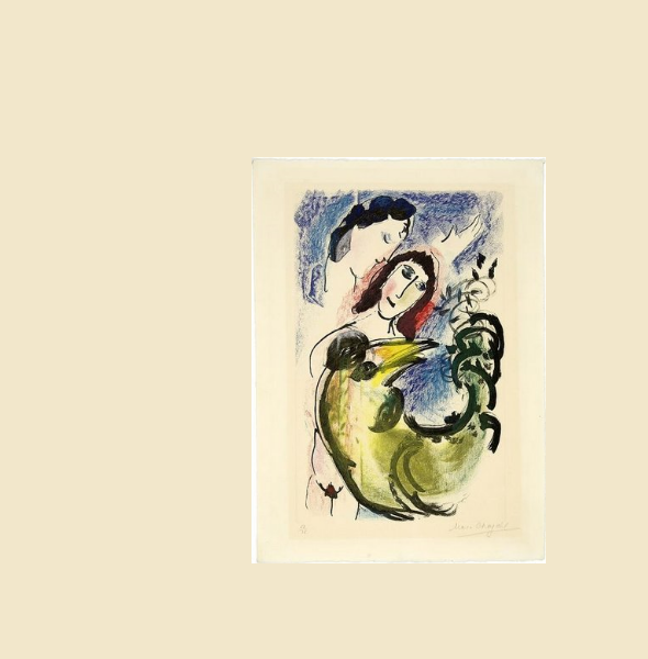 MARC CHAGALL at the Spiez Castle