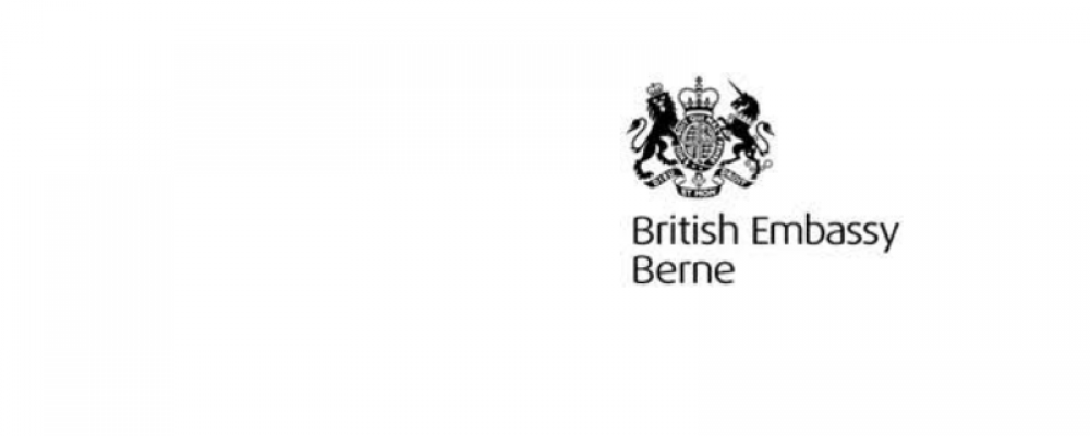 CORONAVIRUS UPDATE FROM UK EMBASSY, BERNE