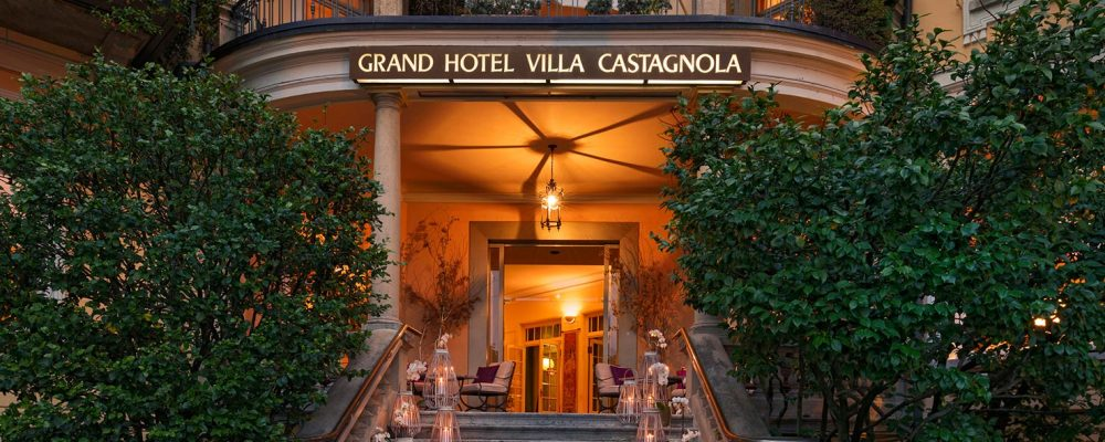 Tea and/or Drinks at Grand Hotel Villa Castagnola